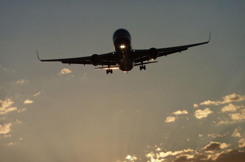 Avión aterrizando | Foto: Pixabay