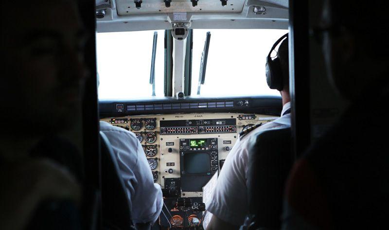 Interior de la cabina de un avión | Foto: StockSnap para Pixabay