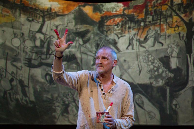 Jordi Rebellón como Andrés Faulques   Foto: Emilia Yagüe Producciones
