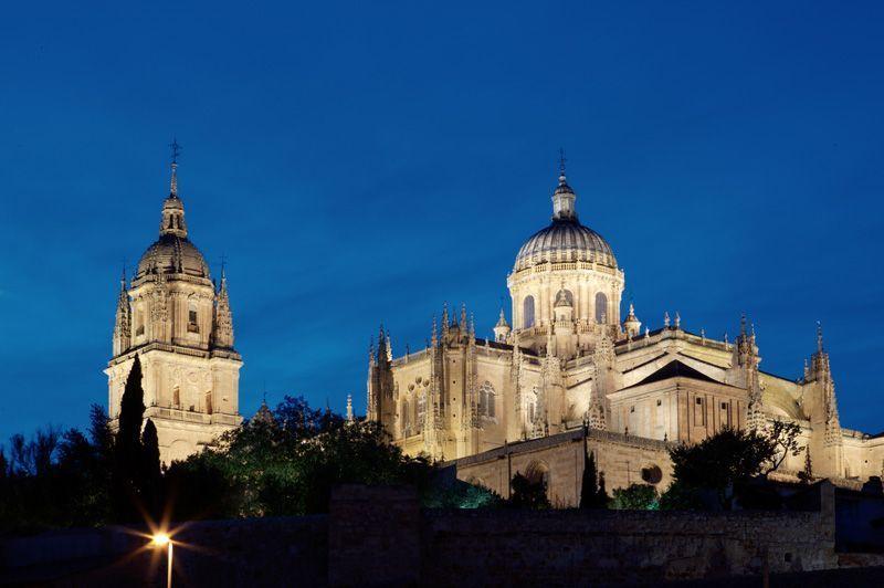 Vista de las catedrales de Salamanca   Foto: Salamanca Turismo