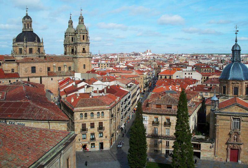 Vista de Salamanca desde la Catedral | Foto: David Fernández