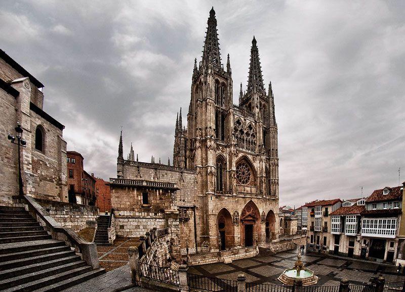 Fachada de la Catedral de Burgos | Foto: Turismo de Burgos
