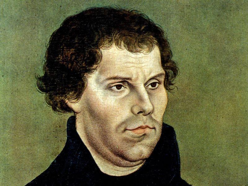Martín Lutero, por Cranach el Viejo
