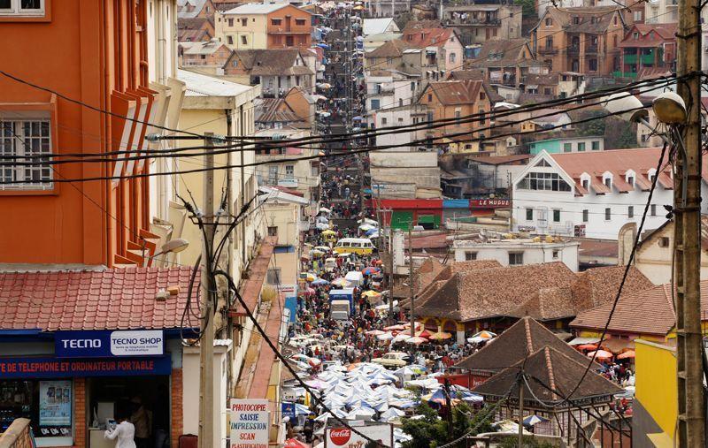 Calles de Antananarivo, capital de Madagascar | Foto: Beatriz de Lucas Luengo
