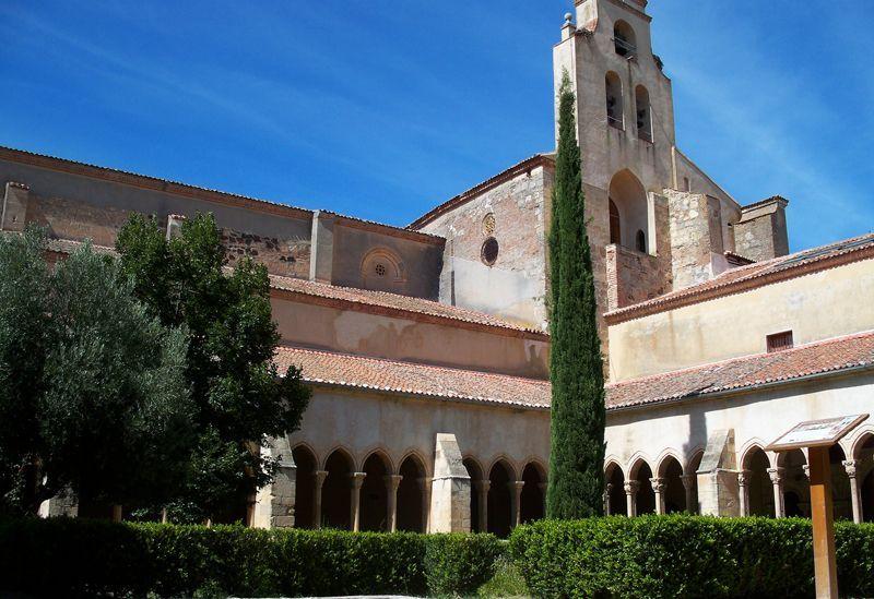Claustro de Santa María la Real de Nieva | Foto: David Fernández