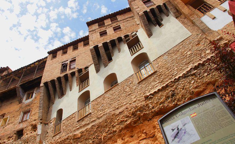 Casas colgadas en la judería de Tarazona | Foto: Beatriz de Lucas Luengo