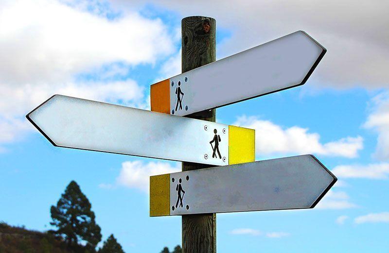 Cruce de largos caminos | Foto: GregMontani para Pixabay