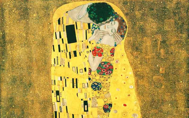 El beso de Gustav Klimt | Foto: Museo Leopold