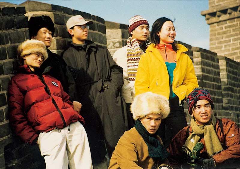 El equipo fundador de Alibaba. Jack Ma es el primero por la izquierda | Fuente: www.alibabagroup.com