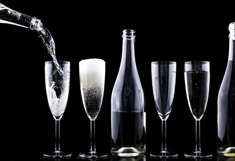 Champán y lujo en copa | Fuente: Pixabay