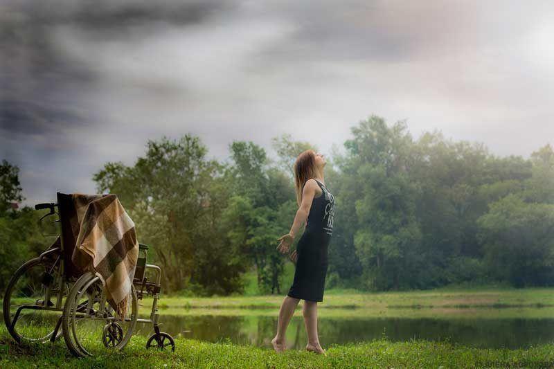 Naturaleza y silla de ruedas | Foto: Pixabay