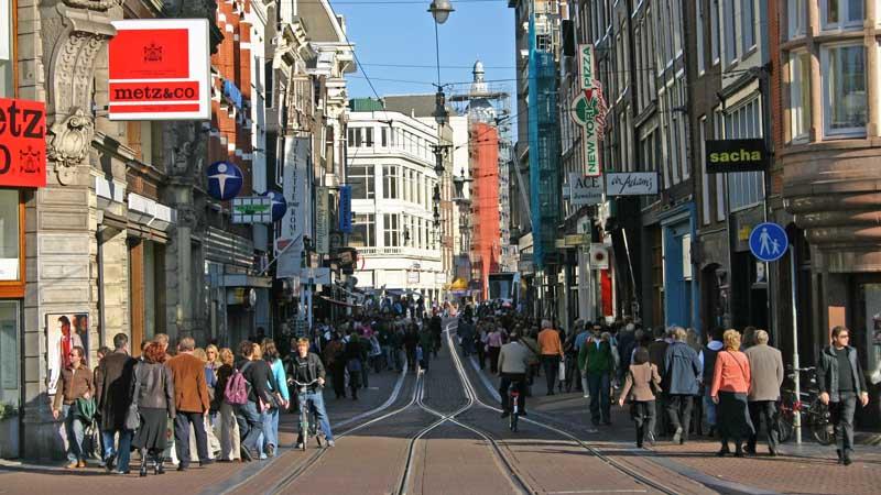 Una calle típica del centro. Foto de: ONT Holanda