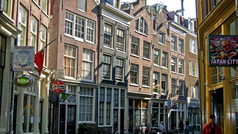 Una calle típica. Foto de: ONT Holanda