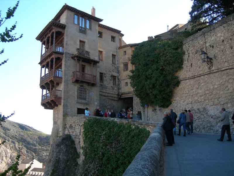 Casas colgadas. Foto de: ALBERTO PERAL