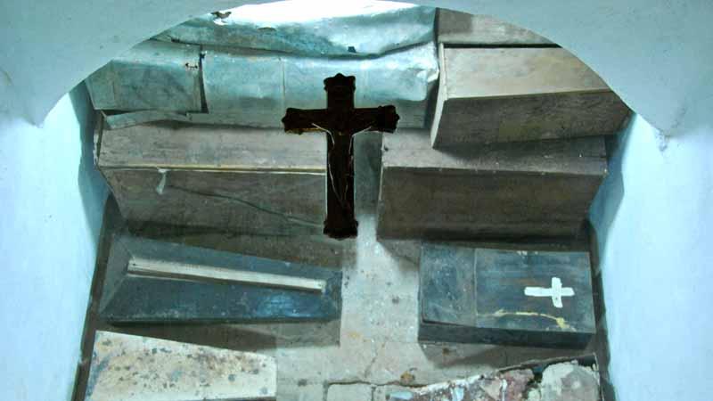 Tumbas de la catedral. Foto de: HERNANDO REYES
