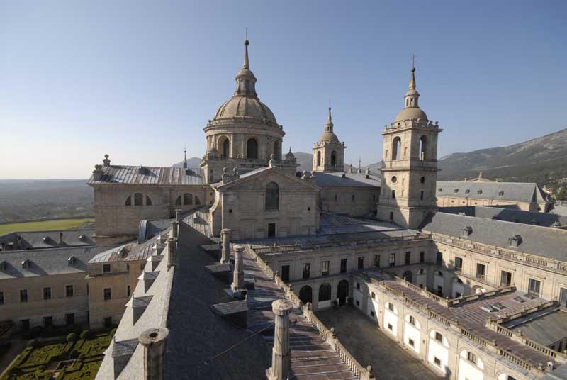 Monasterio de San Lorenzo de el Escorial. Foto de: HERMANOS AYUSO