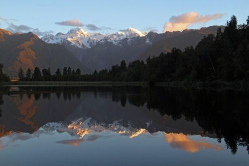 Lake matheson. Foto de: RAPHAEL ELTROP