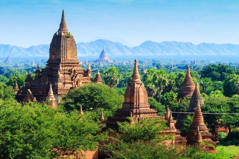 Templos en Myanmar | Foto: Pixabay