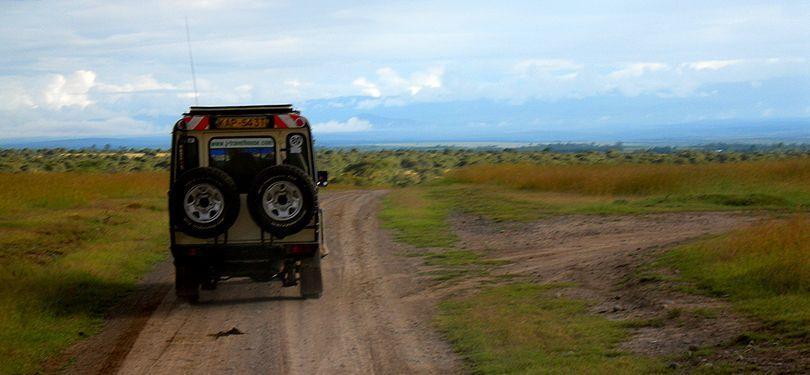 De safari por Kenia. Foto de: PALOMA GIL
