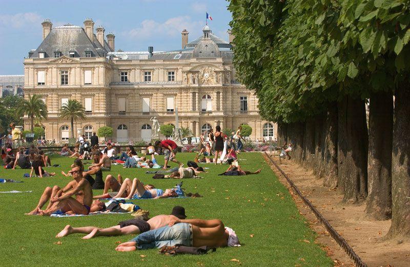 Jardines de Louxemburgo | Foto: París Turismo
