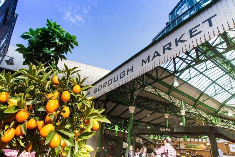 Mercado en Londres | Foto: VisitLondon