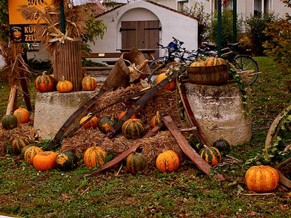 Decoracion de Halloween en Austria