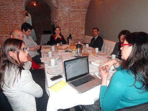 Asistentes al desayuno de trabajo de Networking Activo   Foto: Victoria Camargo