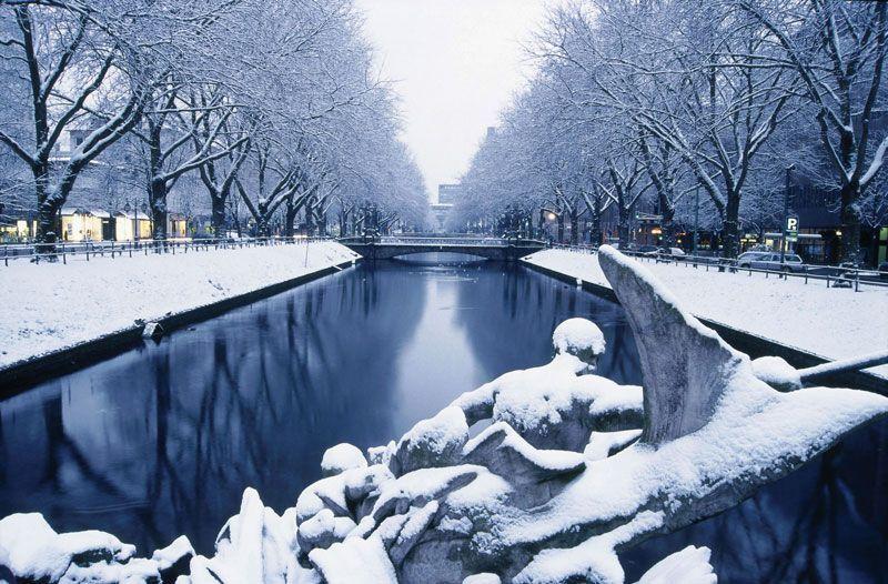 La Navidad y la nieve llegan a Düsseldorf | Fuente: ONT Düsseldorf