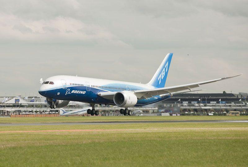 Un Boeing 787 aterrizando | Foto: Boeing