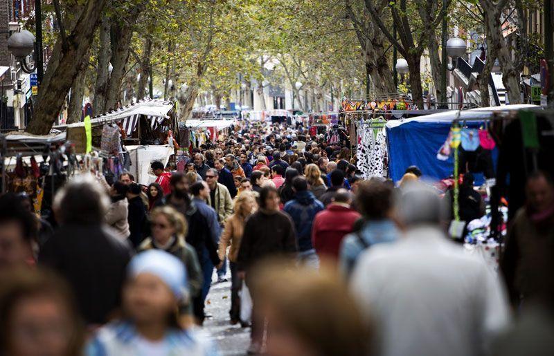 Rastro de Madrid | Foto: Carlos Cazurro para Madrid Convention and Visitors Bureau