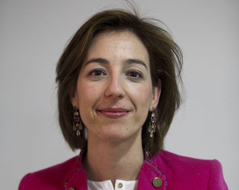 Beatriz Puente, directora financiera de AENA   Foto: AENA