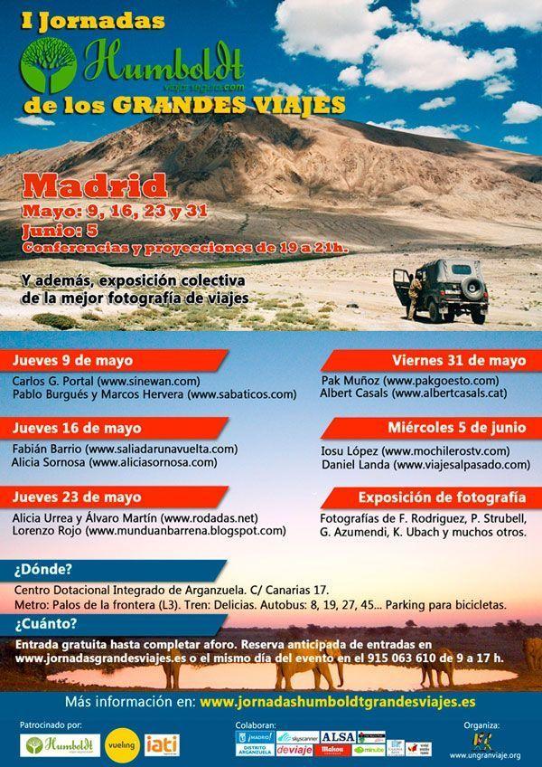 I Jornadas Humboldt de grandes viajes