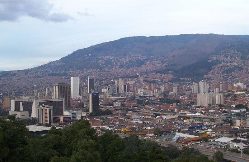 Vista de la ciudad de Medellín, en Colombia | Foto: David Fernández