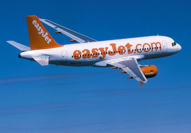 Airbus 319 de Easyjet   Foto: Easyjet