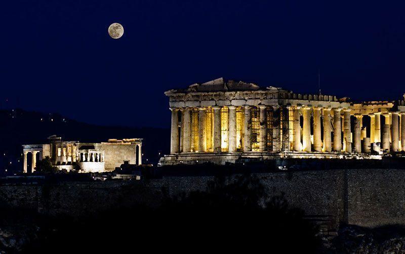 Conjunto de la Acrópolis en Atenas | Foto: Turismo de Grecia