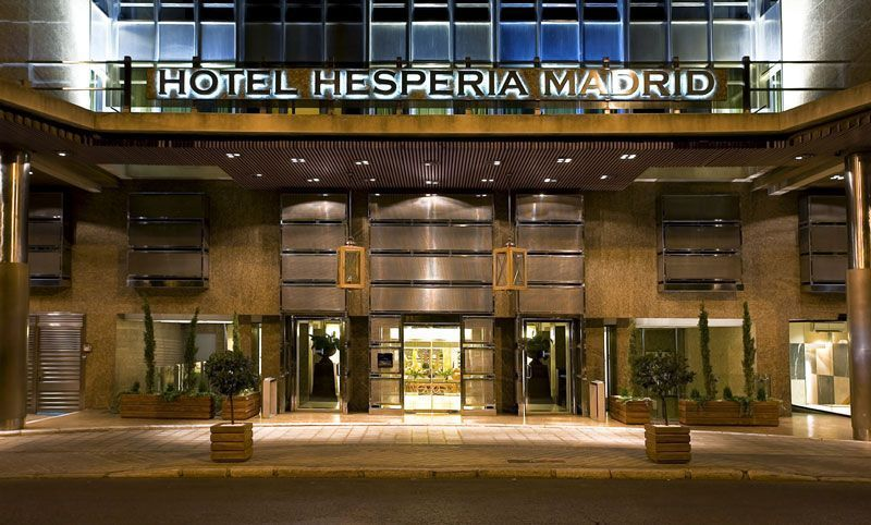 Fachada del hotel NH Hesperia Madrid