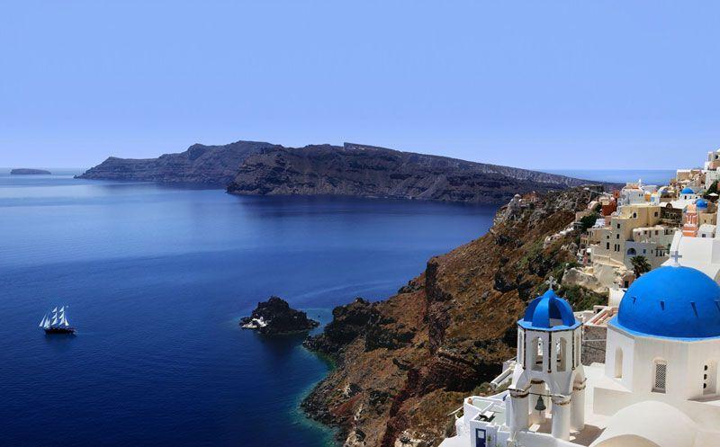 Isla de Santorini (Grecia) | Foto: Turismo de Grecia