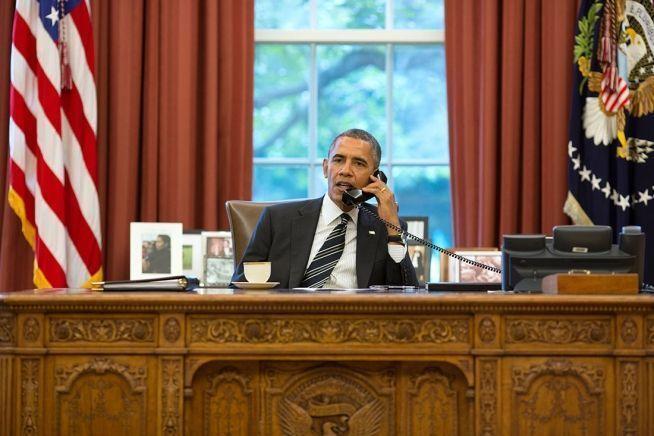 ¿Hay alguien ahí? | Foto: Pete Souza para White House