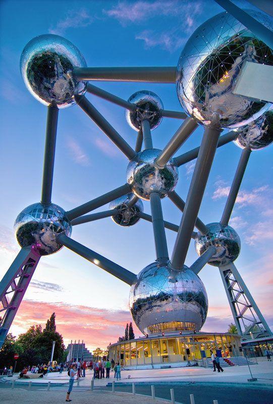 Atomium en Bruselas (Bélgica) | Foto: Dj Sharko