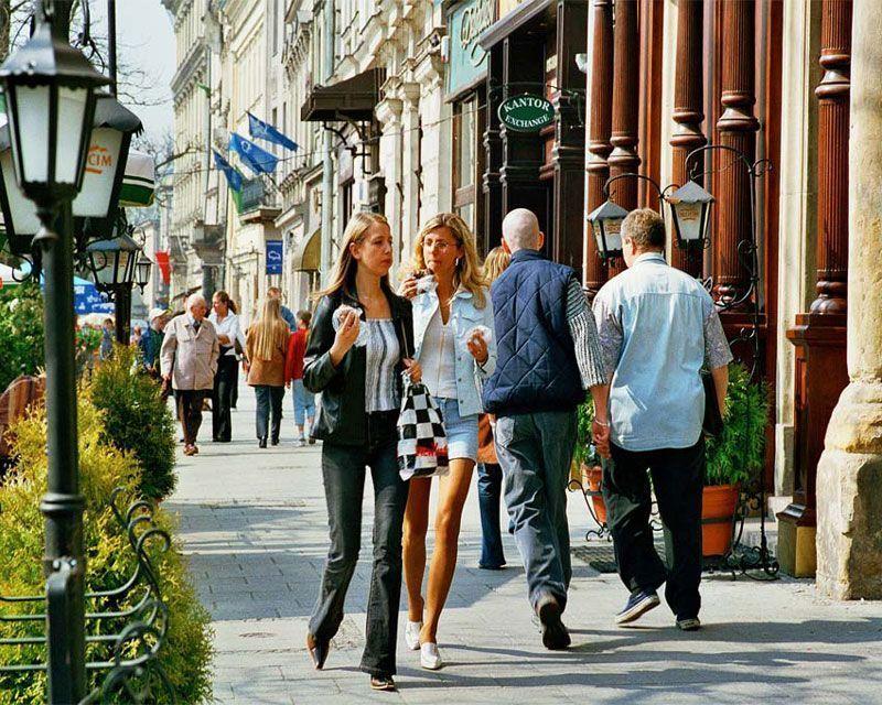 Calle de Cracovia (Polonia) | Foto: Oficina de Turismo de Polonia