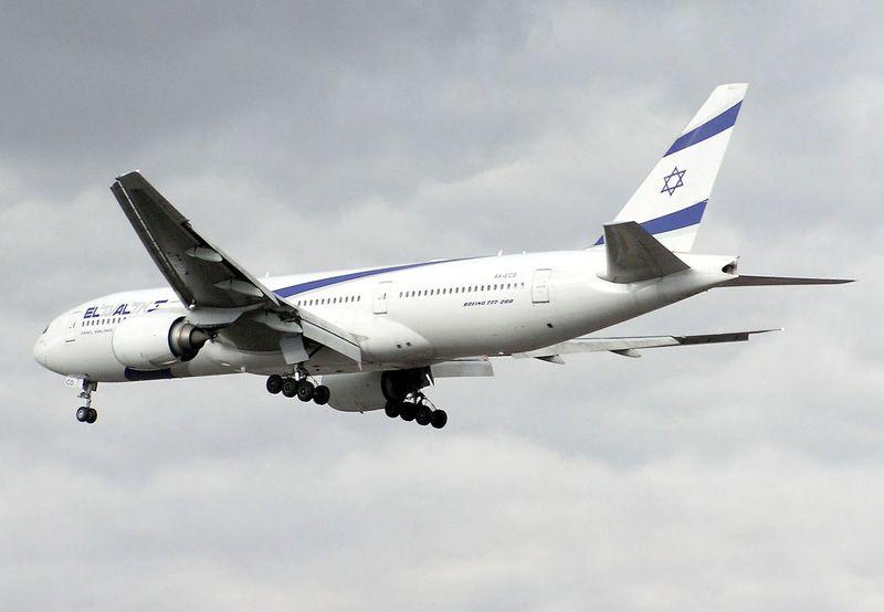Avión de El Al