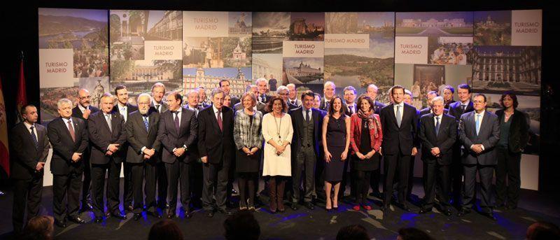 Presentación de la Asociación de Turismo de Madrid, con Ignacio González en el centro   Foto: Comunidad de Madrid