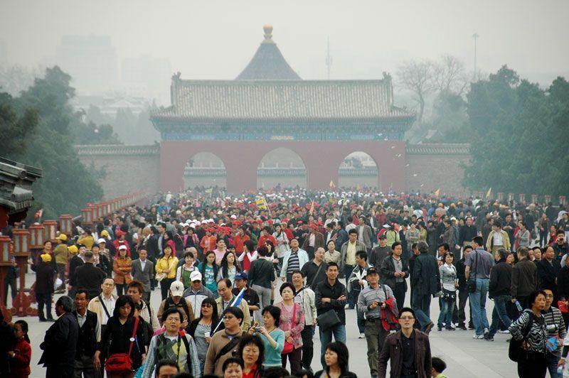 Turistas chinos en un templo | Foto: Shreyans Bhansali para Flicr/CC