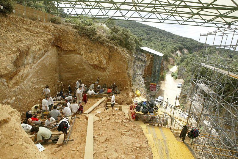 Excavaciones en el yacimiento de Atapuerca (Burgos) | Foto: Ayuntamiento de Atapuerca