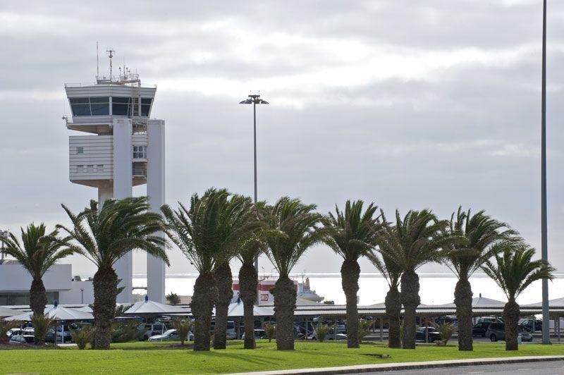 Torre de control del Aeropuerto de Lanzarote | Foto: Aena Aeropuertos