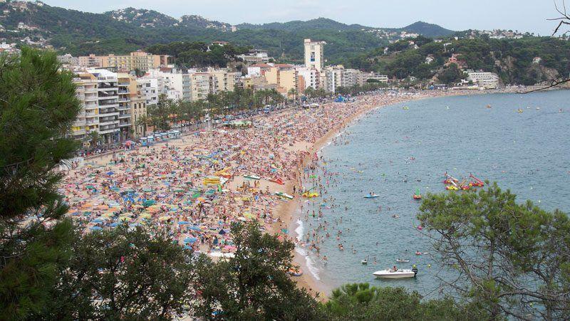 Playa de Lloret de Mar (Gerona) | Foto: David Fernández