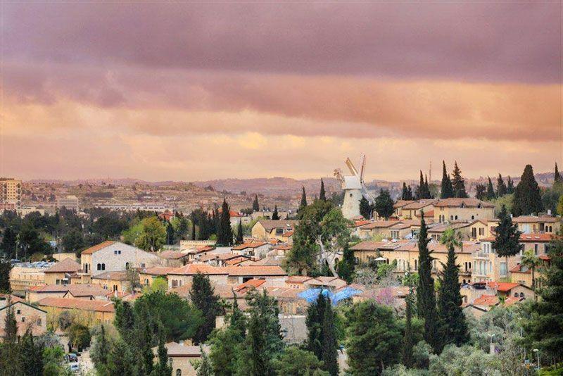 Vistas de Jerusalém desde el barrio de Yemin Moshe | Foto: Turismo de Israel