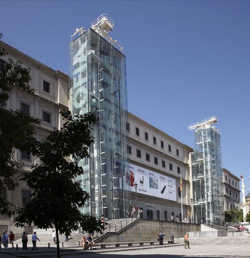 Fachada principal del Museo de Arte Contemporáneo Reina Sofía (Madrid) | Foto: Joaquín Cortés/Román Lores