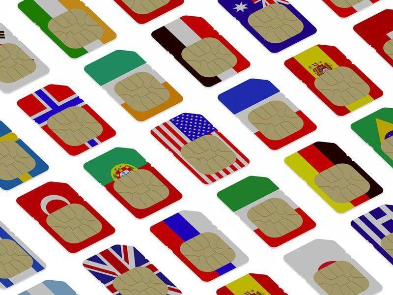 Tarjetas SIM de varios países europeos | Foto: BELGA/Easyfotostock/V.Gorbunov