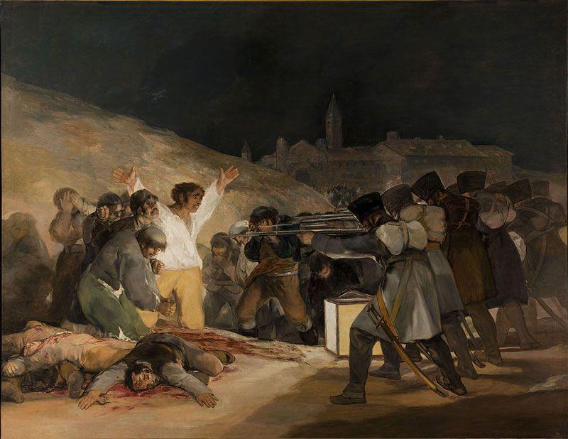3 de mayo, cuadro de Francisco de Goya